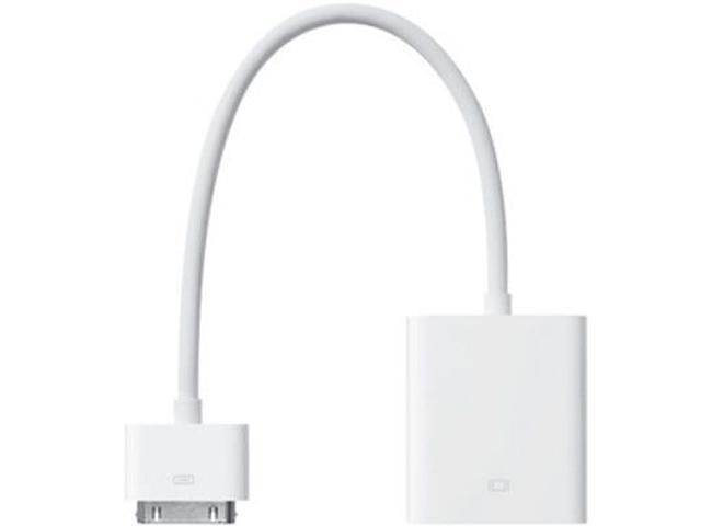 Apple MC552ZM/A iPad Dock Connector-to-VGA Adapter - White