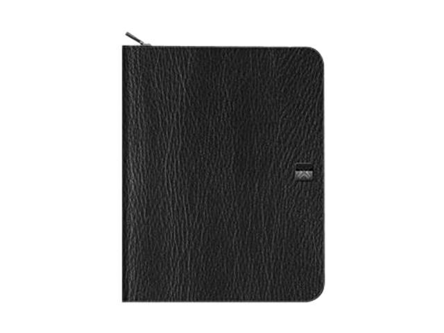 XtremeMac PAD-ZF2-13 Zip Folio Carrying Case for iPad2 Black