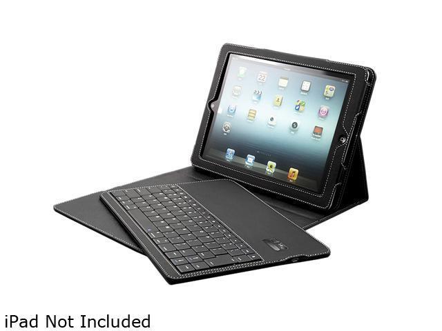 Solidtek Black Bluetooth Keyboard with Portfolio Black for iPAD Model KB-X3001B-PF