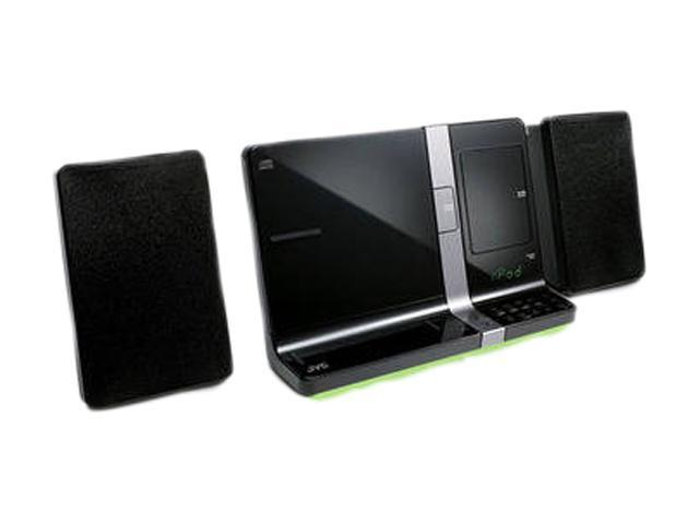 JVC Dual Dock Sound System For Dockipad & Ipod Black UXVJ3B