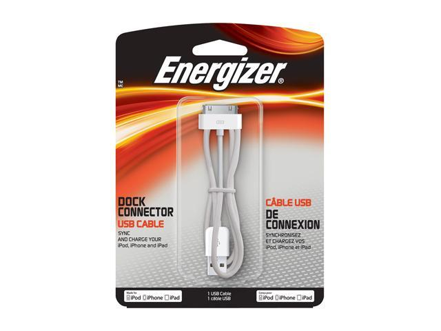 ENERGIZER Apple Dock Connector USB Cable CB-APW70