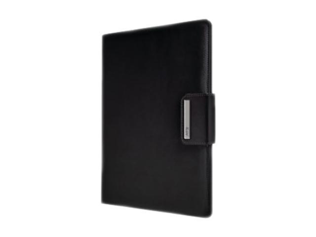Black Portfolio Case with Stand for iPad 2