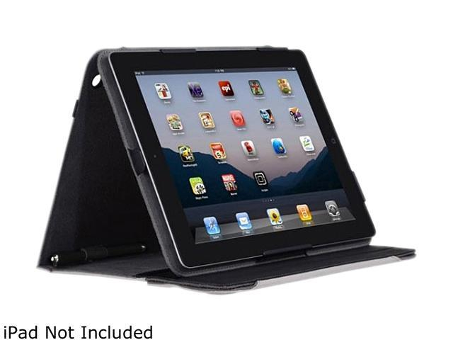 Incipio IPAD-251 New iPad Premium KICKSTAND Case with Stylus - Gray Nylon