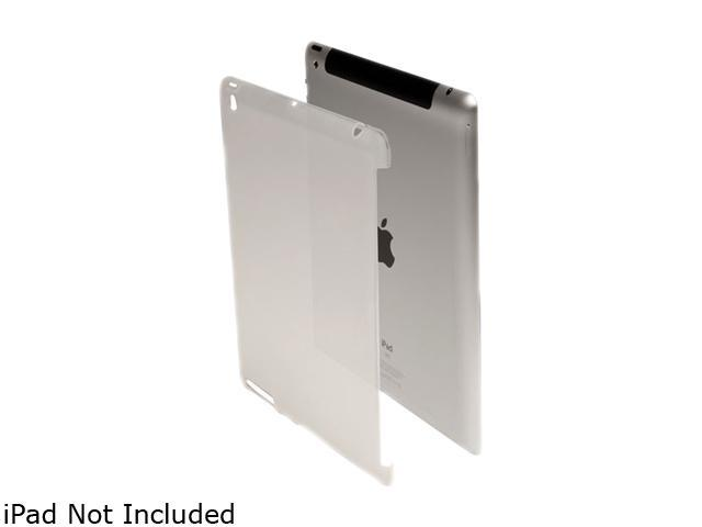 V7 Soft-Touch Protective Back Cover for iPad 2 and new iPad Model TA13CLR-3N