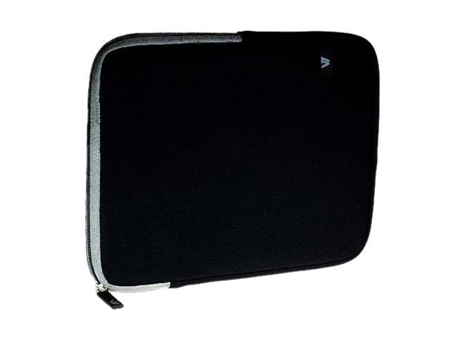 V7 Ultra Protective Sleeve for iPad or Tablet PC Model TD23BLK-GY-2N