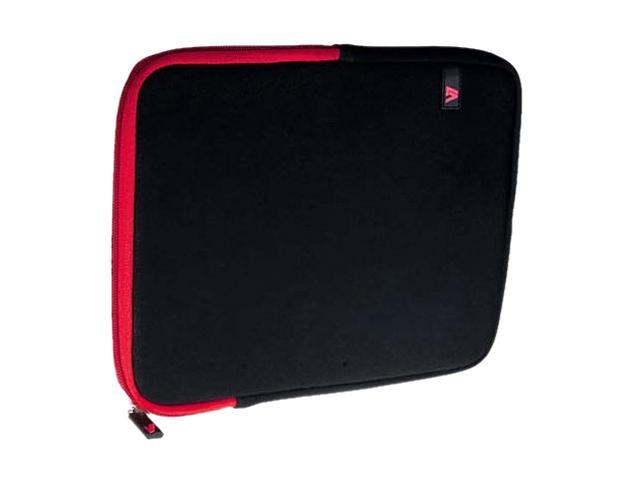 V7 Ultra Protective Sleeve for iPad or Tablet PC Model TD23BLK-RD-2N