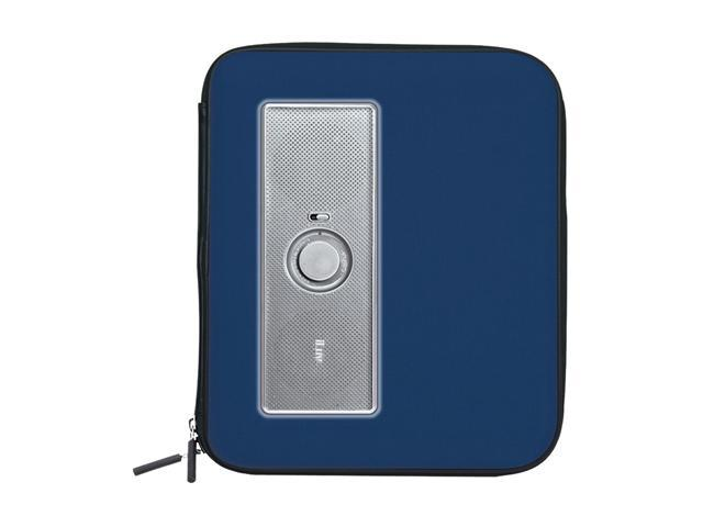 iLuv MusicPac iSP230BLU Portable Stereo Speaker Case for Samsung GALAXY Tab series Blue