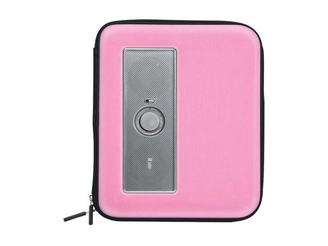 iLuv MusicPac iSP230PNK Portable Stereo Speaker Case for Samsung GALAXY Tab series Pink