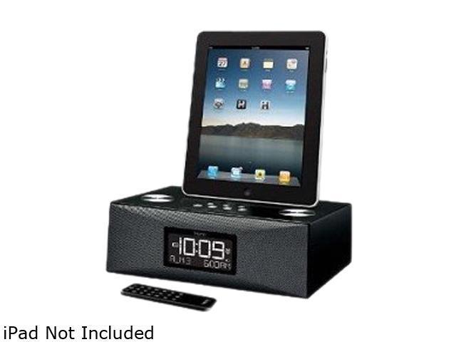 iHomeaudio Dual-Alarm Clock Radio For Apple iPad, iPhone And iPod ID85BZC
