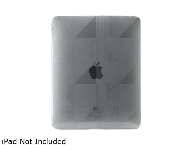 Case-Mate Gelli CM011196 TPU Case Form Fit Design for iPad Gray