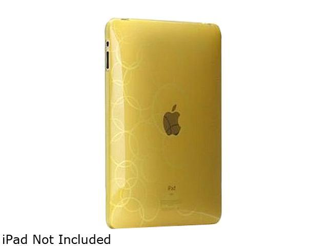 Case-Mate Gelli CM011200 TPU Case Form Fit Design for iPad Yellow Gold