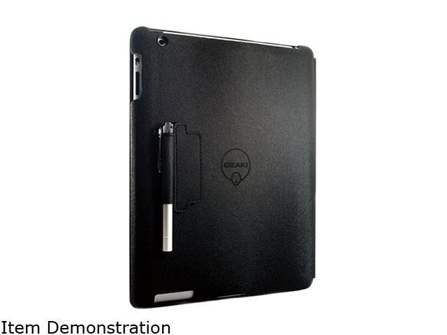 Ozaki International Black Folio for The New iPad Model IC509BK