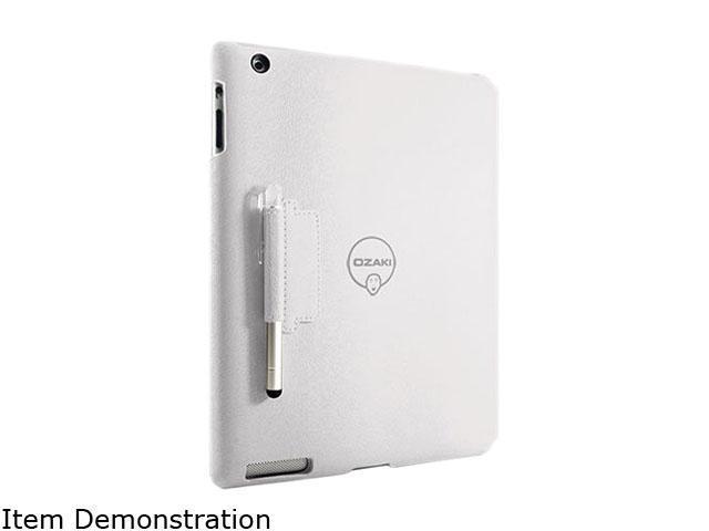 Ozaki International White Folio for The New iPad Model IC509WH