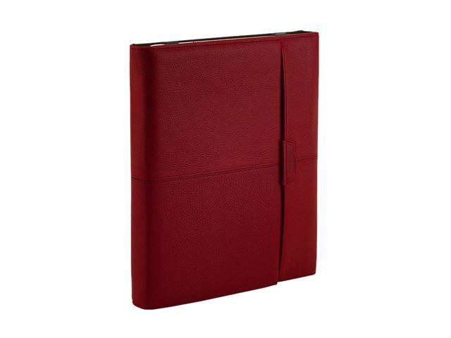 Targus THZ06201US Leather Portfolio for iPad 1 & 2 Red And Brown