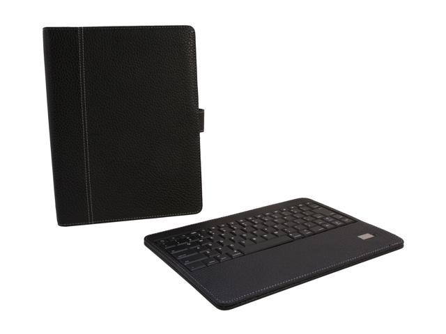 Aluratek Bluetooth Folio Case with Removable Keyboard for all iPads 1/2/3rd Gen Model ABTK01F