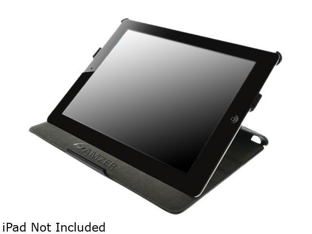 Amzer iPad 2 Leather Texture Shell Portfolio Case - Model 90814