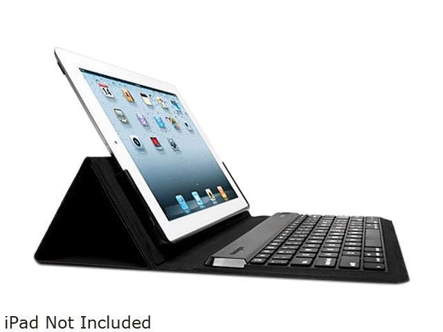 Kensington KeyFolio Expert Multi Angle Folio & Keyboard for The new iPad Model K39531US