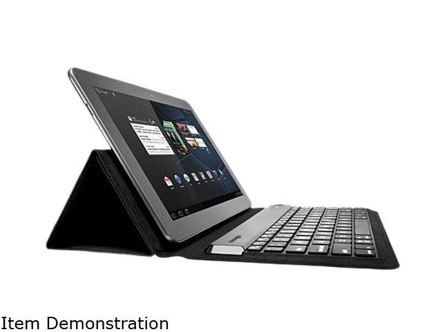 Kensington KeyFolio Expert Folio & Keyboard for Android Tablets Model K39532US