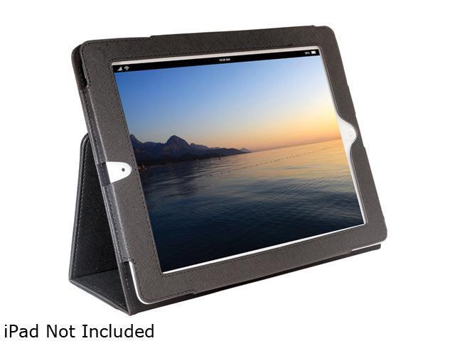 PC Treasures Black Folio Case For Ipad2 Model 8004