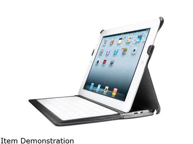 Kensington KeyLite Ultra Slim Touch Keyboard Folio For iPad 4 with Retina Display, iPad 3 and iPad 2 Model K39598US