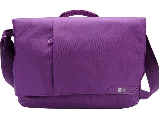 "Case Logic Purple iPad and 11"" Laptop Messenger Model MLM-111GOTHAM PURPLE"