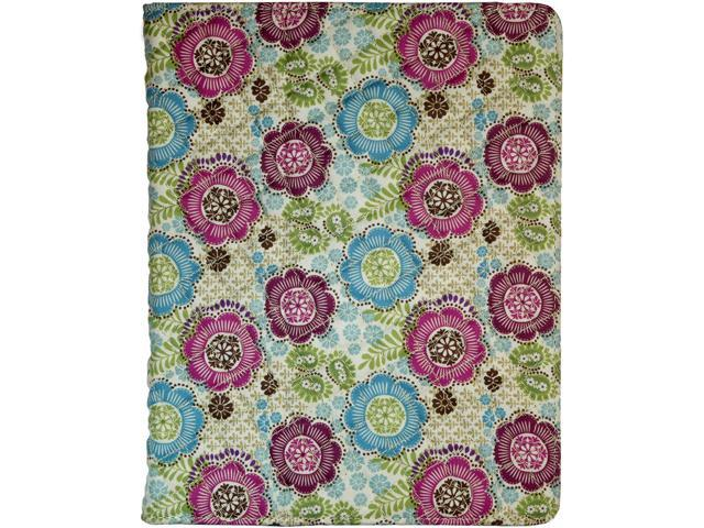 PC Treasures 08655 Folio Case for Pad 2 and New iPad Flower