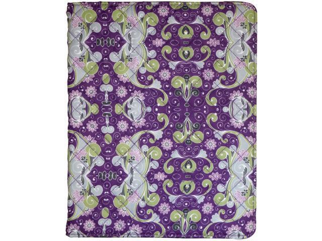 PC Treasures Purple Folio Case for Pad 2 and New iPad Model 08656