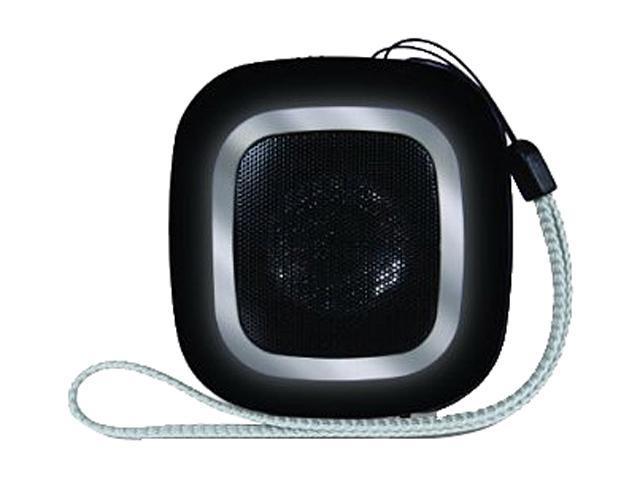 dreamGEAR ISOUND-1603 Mini Speaker (square) Black