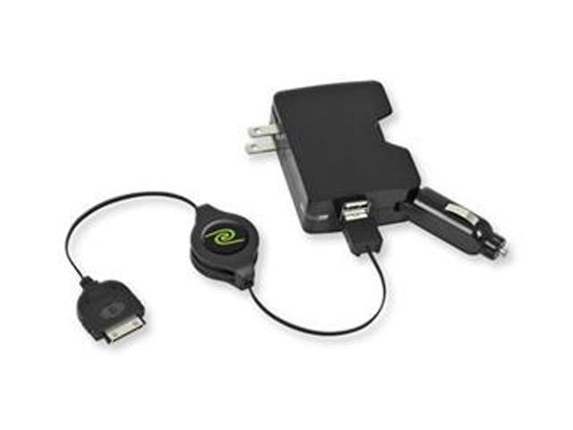 Emerge ETIPADCHG41 Auto/AC Adapter - 5 V DC For iPad