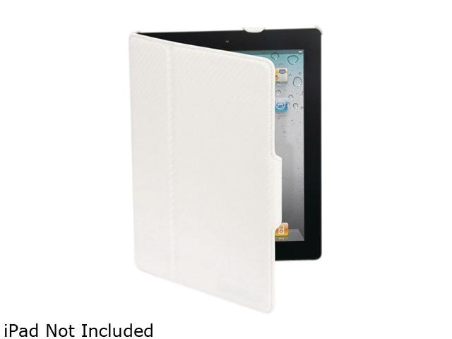 Scosche Folio P2 IPD2FLW iPad 2 Leather Texture Folio Case -                                                                 White