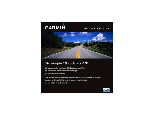GARMIN City Navigator North America NT microSD card