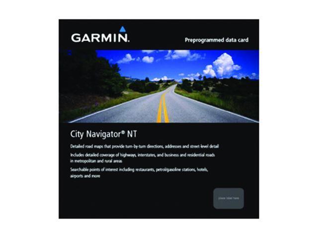 GARMIN City Navigator Europe NT - Italy & Greece, microSD/SD card