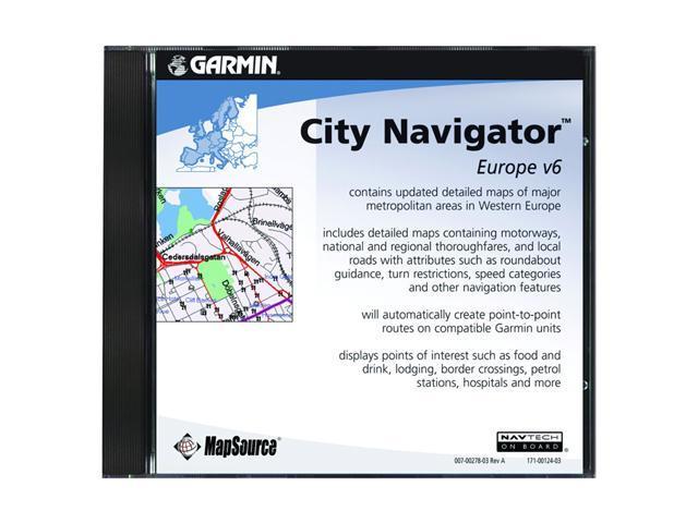 garmin city navigator europe nt dvd. Black Bedroom Furniture Sets. Home Design Ideas