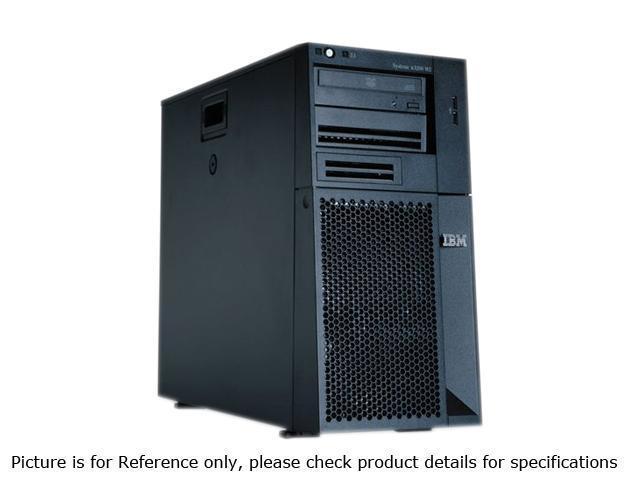 IBM x3200 M3 Tower Intel Xeon X3450 2.67GHz 2GB DDR3 Server Intel Xeon Processor X3450 4C 2.67GHz 2GB DDR3 732854U