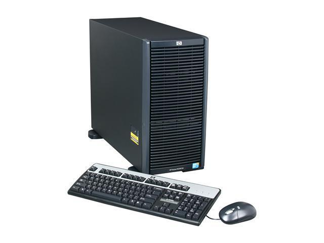 HP ProLiant ML350 G6 Tower Server System Intel Xeon E5620 2.40GHz 4C/8T 4GB (2 x 2GB) DDR3 No Hard Drive 600426-005
