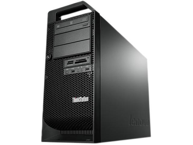 Lenovo ThinkStation D30 Tower Server System Intel Xeon E5-2609 2.4GHz 4C/4T 4GB DDR3 1 x 500GB 3.5