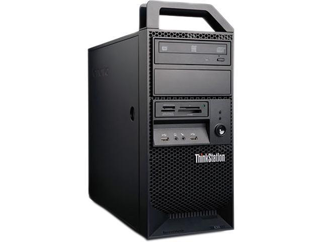 Lenovo ThinkStation E31 Tower Server System Intel Core i3-2120 3.3GHz 2C/4T 4GB DDR3 1x500GB SATA 6G 7200RPM 3.5