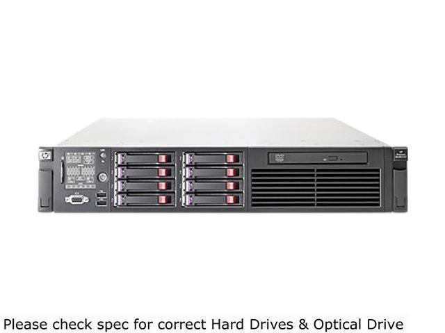 HP ProLiant DL380 G7 Rack Server System Intel Xeon E5606 2.13GHz 4C/4T 4GB (1 x 4GB) DDR3 No Hard Drive 639828-005