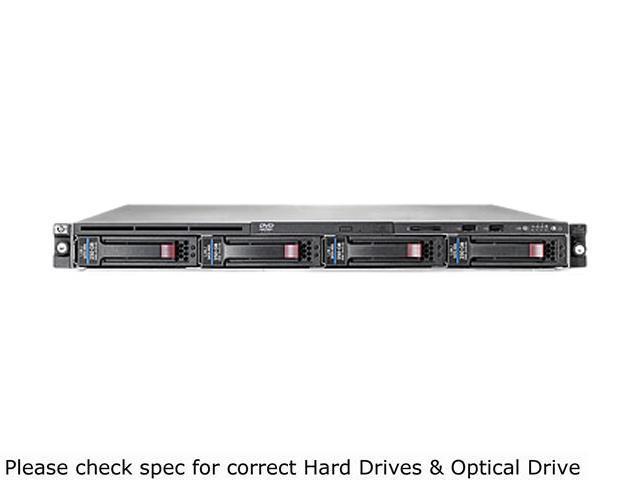 HP ProLiant DL320 G6 Rack Server System Intel Xeon E5606 2.13GHz 4C/4T 4GB (1 x 4GB) DDR3 No Hard Drive 654079-S01