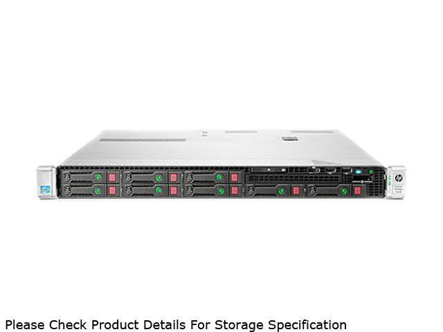 HP ProLiant DL360p Gen8 Rack Server System Intel Xeon E5-2609 2.4GHz 4C/4T (Max 2 Sockets/8 Cores) 8GB (1 x 8GB) DDR3 No Hard Drive (8 SFF HDD Bays) 670632-S01