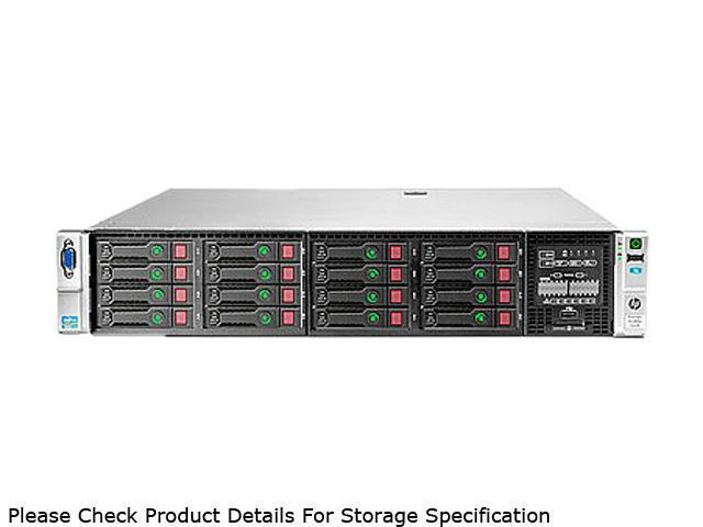 HP ProLiant DL380p Gen8 Rack Server System 2 x Intel Xeon E5-2670 2.6GHz 8C/16T 32GB (4 x 8GB) DDR3 No Hard Drive 670852-S01