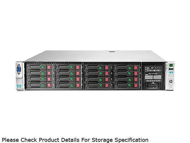 HP ProLiant DL380p Gen8 Rack Server System Intel Xeon E5-2609 2.4GHz 4C/4T 8GB (1x8GB) DDR3 No Hard Drive 670857-S01