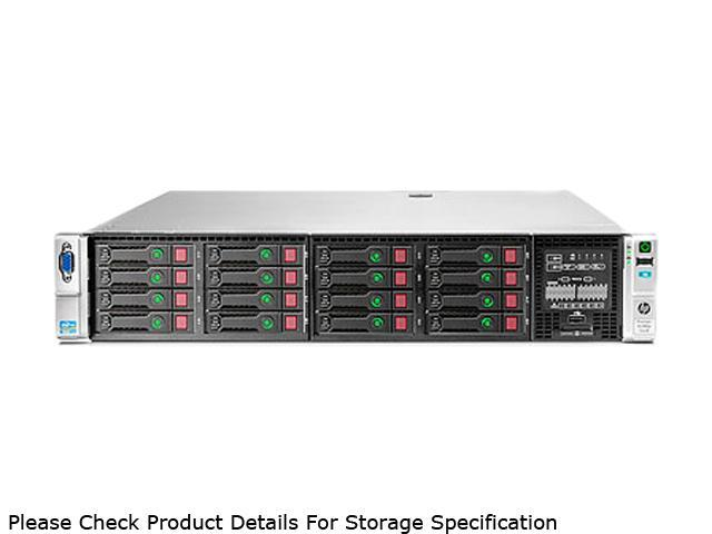 HP ProLiant DL380p Gen8 Rack Server System Intel Xeon E5-2640 2.5GHz 6C/12T 16GB (4 x 4GB) DDR3 No Hard Drive 642107-001