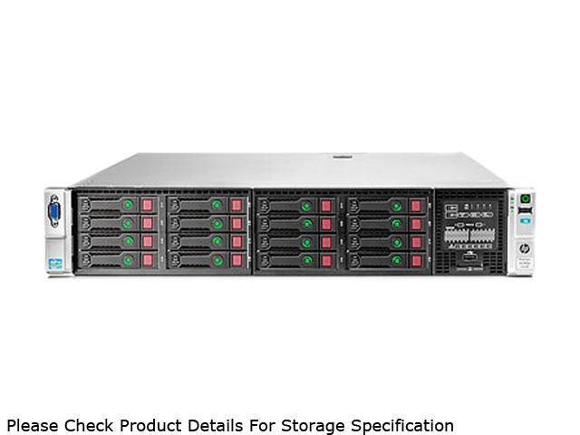 HP ProLiant DL380p Gen8 Rack Server System Intel Xeon E5-2620 2GHz 6C/12T 16GB (4 x 4GB) DDR3 No Hard Drive 642120-001