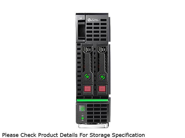 HP ProLiant BL460c Gen8 Blade Server System 2 x Intel Xeon E5-2670 2.6GHz 8C/16T 64GB (8 x 8GB) DDR3 666157-B21