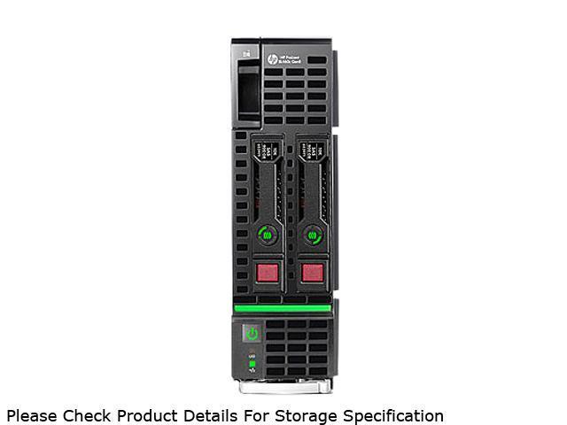 HP ProLiant BL460c Gen8 Blade Server System 2 x Intel Xeon E5-2660 2.2GHz 8C/16T 64GB (8 x 8GB) DDR3 666158-B21