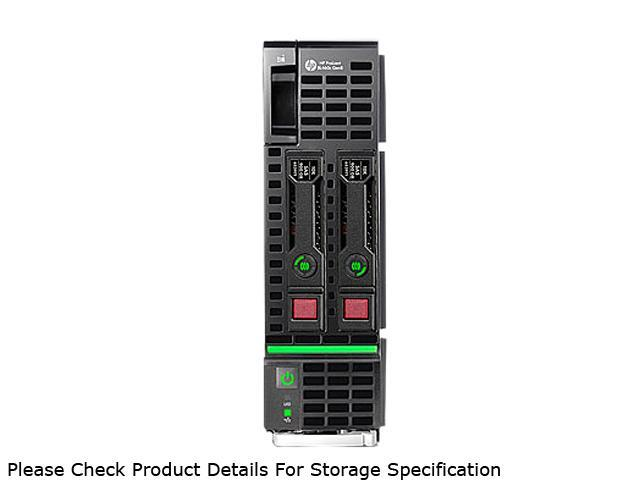 HP ProLiant BL460c Gen8 Blade Server System Intel Xeon E5-2640 2.5GHz 6C/12T 32GB (4 x 8GB) DDR3 666160-B21