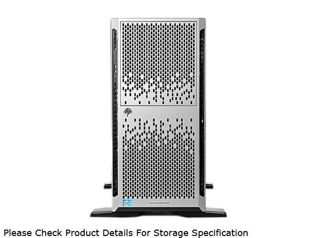 HP ProLiant ML350p Gen8 Tower Server System Intel Xeon E5-2620 2GHz 6C/12T 8GB (2 x 4GB) DDR3 No Hard Drive (Supports up to 8 SFF SAS/SATA) 646676-001