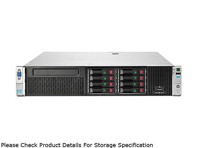 HP ProLiant DL380e Gen8 Rack Server System Intel Xeon E5-2403 1.8GHz 4C/4T 4GB (1 x 4GB) DDR3 No Hard Drive 648256-001