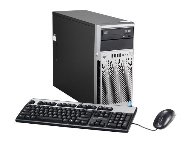 HP ProLiant ML310e Gen8 Micro ATX Tower (4U) Server System Intel Xeon E3-1220V2 3.1GHz 4C/4T 4GB DDR3 686233-S01